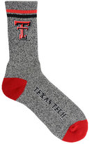 For Bare Feet Texas Tech Red Raiders Two Stripe Socks