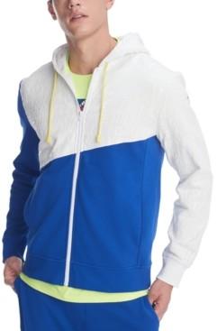 Tommy Hilfiger Men's Wayne Colorblock Full-Zip Hoodie
