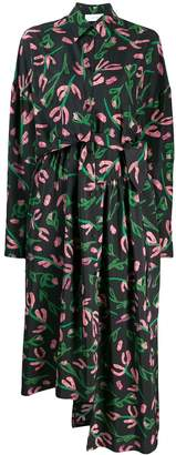 Christian Wijnants dani floral shirt-dress