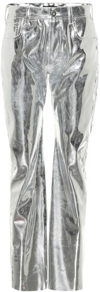 Kwaidan Editions High-rise straight vinyl pants