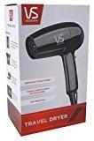 Vidal Sassoon Vsdr5523 1875w Stylist Travel Dryer, Black
