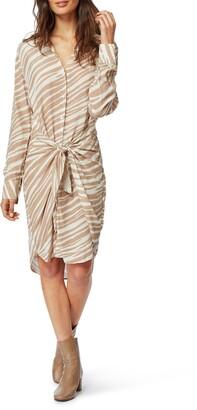 Habitual Talia Zebra Shirt Dress