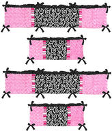 JoJo Designs Sweet Madison Collection Crib Bumper