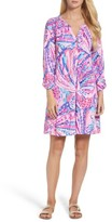 Lilly Pulitzer Women's Essie Roll Sleeve Shift Dress