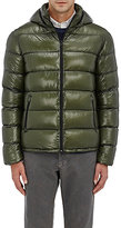 Herno Men's Down-Quilted 7 Denier Ripstop Jacket-GREEN