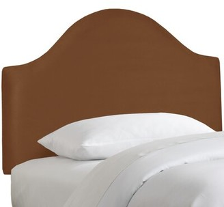 Alcott Hill Premier Upholstered Panel Headboard Size: Twin, Color: Premier Chocolate