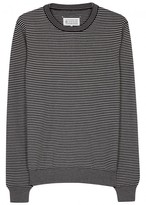 Maison Margiela Striped Wool Blend Jumper