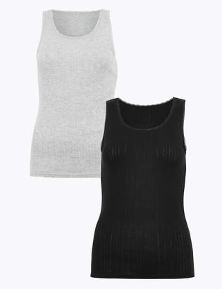 Marks and Spencer 2 Pack Thermal Vests