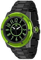 Glam Rock Women's Aquarock 42mm Black IP Steel Bracelet & Case Swiss Quartz Analog Watch GR50015F