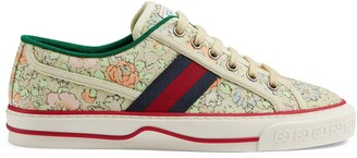 Gucci Women's Tennis 1977 Liberty London sneaker