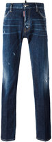 DSQUARED2 Dean whisker detail jeans - men - Cotton/Spandex/Elastane - 56