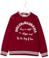Dolce & Gabbana king of love sweatshirt
