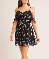 BB Dakota Women's Casual Dresses Black - Black Shoulder of Love Off-Shoulder Dress - Women