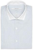 Perry Ellis Very Slim Tiny Diamond Dress Shirt