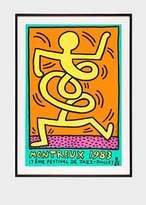 Paul Smith Yellow Man Print - Keith Haring - Montreux Jazz Festival 1983