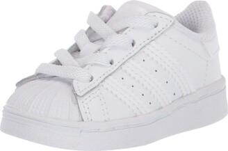 adidas Baby Superstar Elastic Sneaker