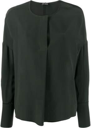Iris von Arnim long sleeved silk blouse