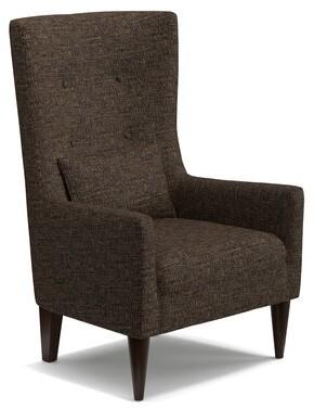 Laurèl Foundry Modern Farmhouse Caryn Wingback Chair Foundry Modern Farmhouse Upholstery Color: Orange Modern Tulip