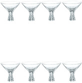 Nachtmann Dancing Stars Bossa Nova 12 oz. Martini Glass - Set of 8