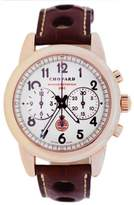 Chopard Grand Prix Historique 18K Rose Gold & Leather Automatic 40mm Mens Watch