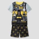 Lego Boys' Pajama Set Grey Batman