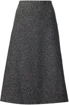 Rosetta Getty midi a-line skirt - women - Silk/Polyamide/Polyester/Viscose - 2
