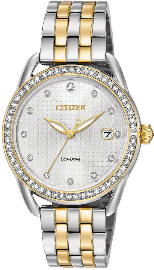 Citizen Drive from Eco-Drive Women's Two-Tone Stainless Steel Bracelet Watch 37mm