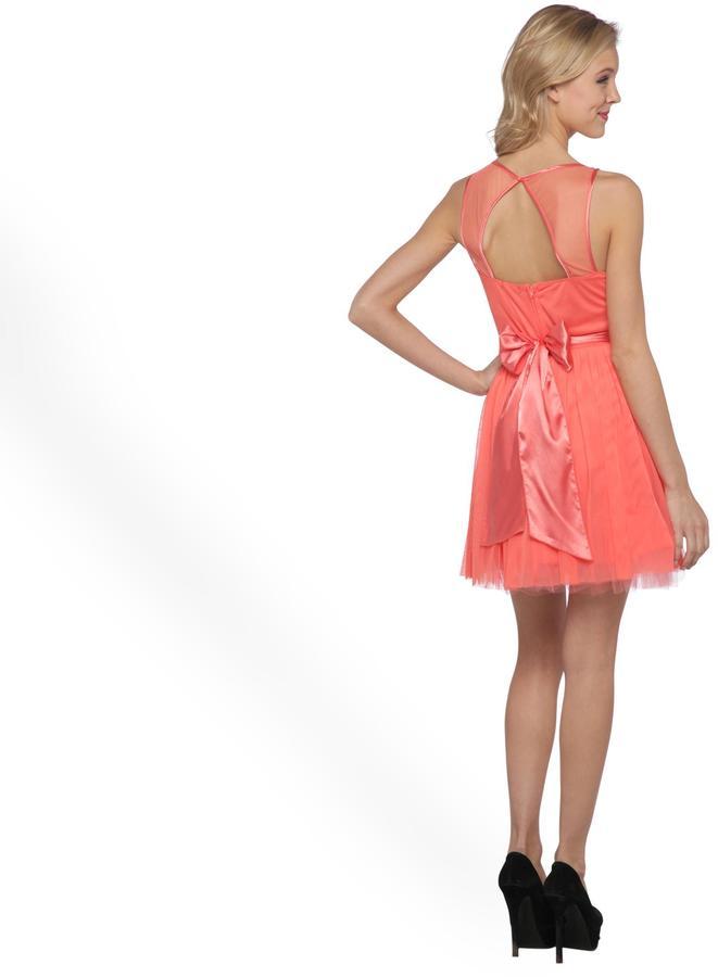 Ruby Rox Junior's Open-Back Sleeveless Party Dress - Jeweled