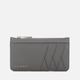 Ted Baker Women's Allexaa Zip Card Holder - Dark Grey