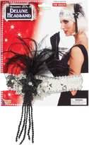 Forum Novelties Inc. Forum Novelties Roaring 20's Sequin Flapper Headband with Feather