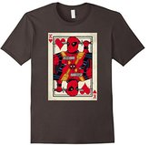 Marvel Deadpool King of Hearts Graphic T-Shirt Adult