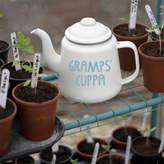 Jonny's Sister Personalised Enamel Teapot