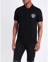 Givenchy Rottweiler-logo Cotton-piqué Polo Shirt