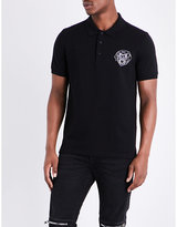 Givenchy Rottweiler-logo Cotton-piqué Polo Shirt
