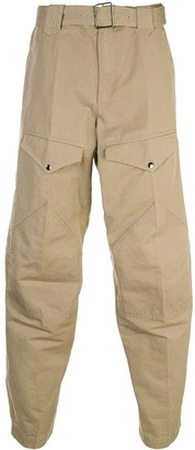 Givenchy Belted Cargo Trousers