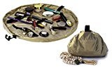 """Lay-n-Go Cosmo Cosmetic Bag (20"""", Gold)"""