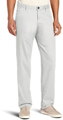 Haggar Men's Life Khaki Slim Fit Flat Front Chino Casual Pant