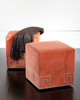 Massoud Honey Amber Ottoman
