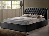 Asstd National Brand Baxton Studio Bianca Modern Bed with Tufted Headboard