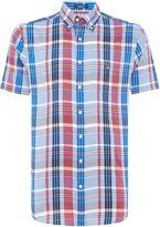 Gant Bright-check Short-sleeve Shirt