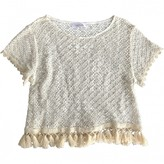 Anine Bing Beige Cotton Top for Women