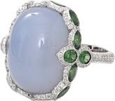 INBAR Cabochon Chalcedony Ring