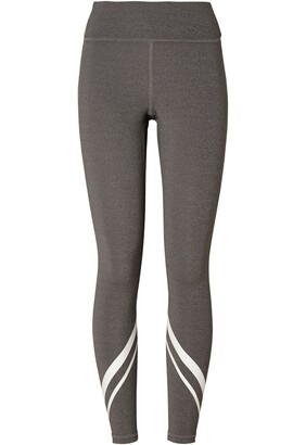 Tory Sport Melange Side Pocket Chevron Compression Leggings