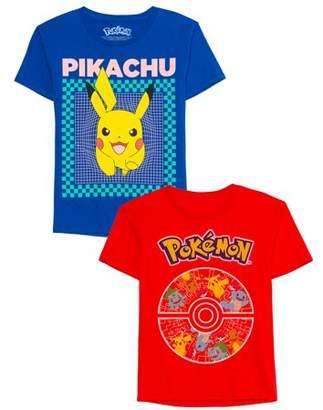 Pokemon PokMon Short Sleeve Pikachu & Graphic Tee (Little Boys & Big Boys)