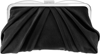 Nina Pleated Frame Clutch - Haidyn