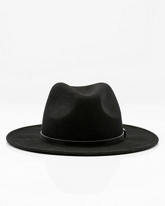 Le Château Wool Wide Brim Hat