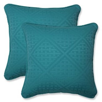 "Maja Bay Isle Home Maui Indoor/Outdoor Throw Pillow Bay Isle Home Size: 16.5"" x 16.5"""