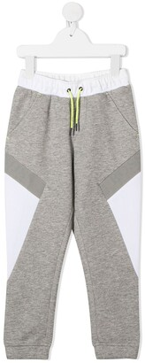 Boss Kidswear Colour-Block Track Pants