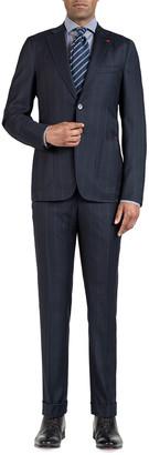 Isaia Men's Wide Stripe Two-Piece Suit