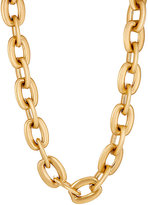Sidney Garber Women's Squared Oval-Link Chain-GOLD